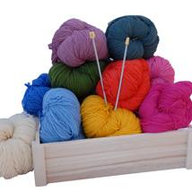 Superwash merino knitting wool