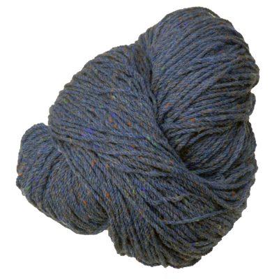 Aran knitting wool Slate Tweed