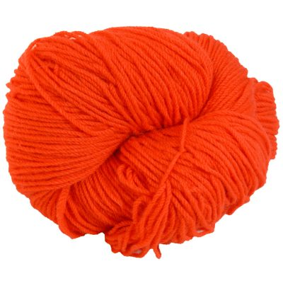 Aran knitting wool Scarlet Poppy red