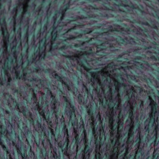 Aran knitting wool Mallard Twist detail