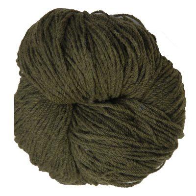 Aran knitting wool moss green marl