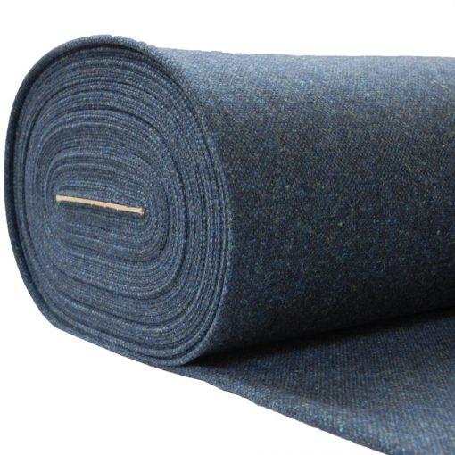 Blue fleck tweed cloth in D8/1 pattern