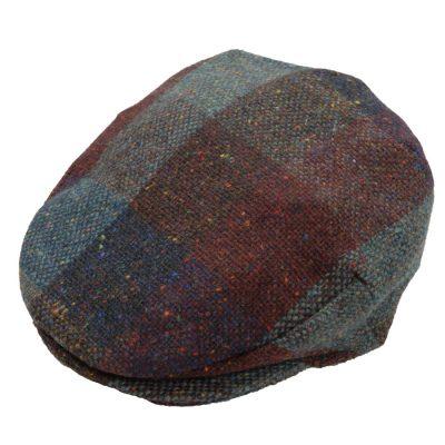tweed cap Autumn Check