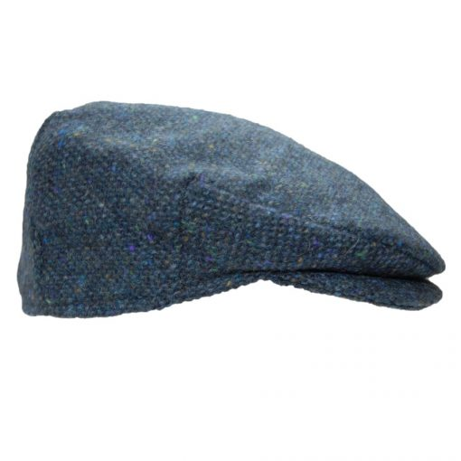 Cap tweed Blue Fleck