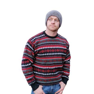 Classic Christmas sweater in Fairisle pattern