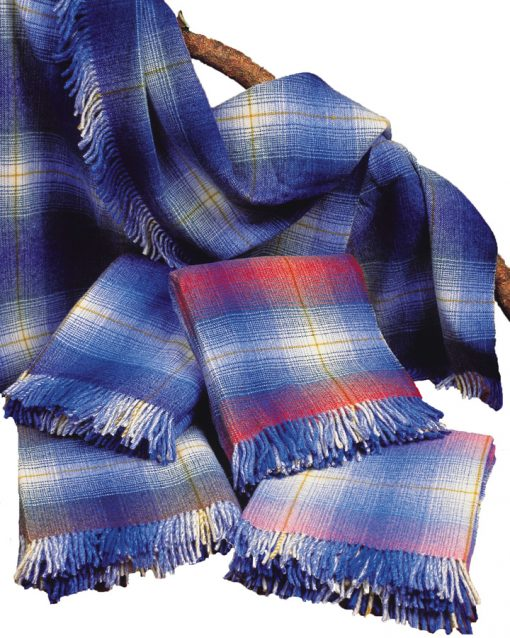 heavy weight 100% pure new wool Kerry throws