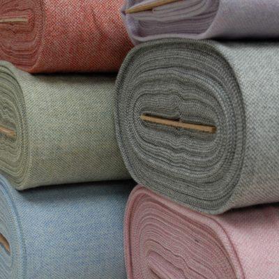 Tweed Wool Cloth mid weight selection kerry woollen mills