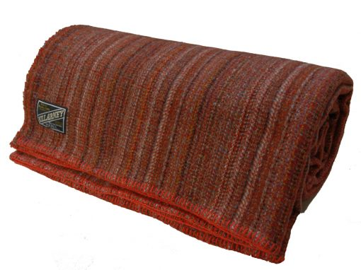 special offer Queen size pure new wool blankets Reds