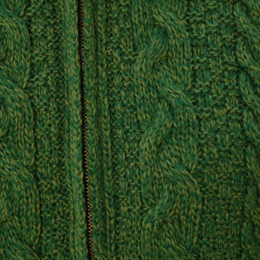 swatch detail if kerry green jacket