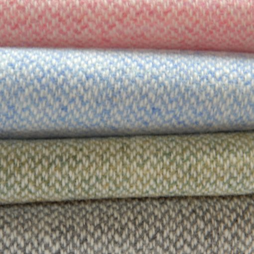 summer poncho swatch of soft pastel twill.