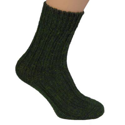 Thick wool socks Moss Green