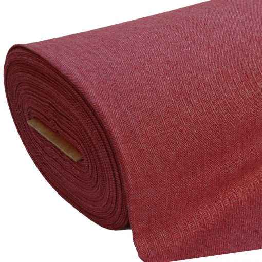 Tweed Red Pink HB 2429B Roll