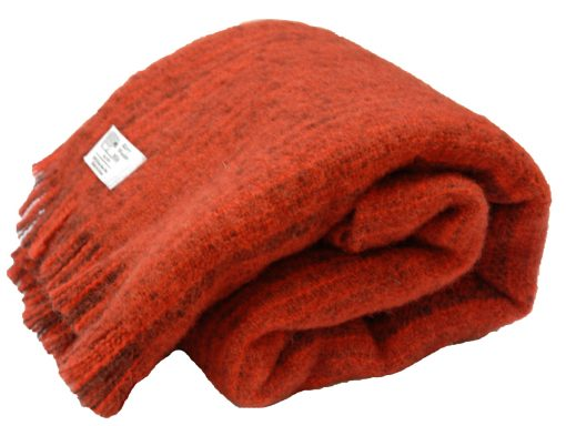 100% Irish Wool Throw, Wool Rug, Kerry Woollen Mills
