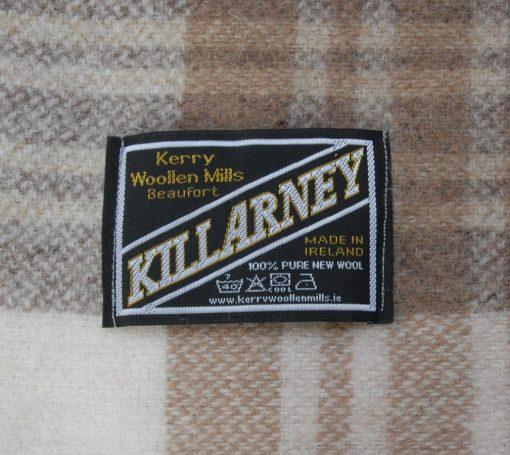 Detail with Killarney blanket label