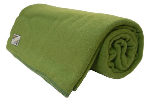 blanket-wool-Grass=Green