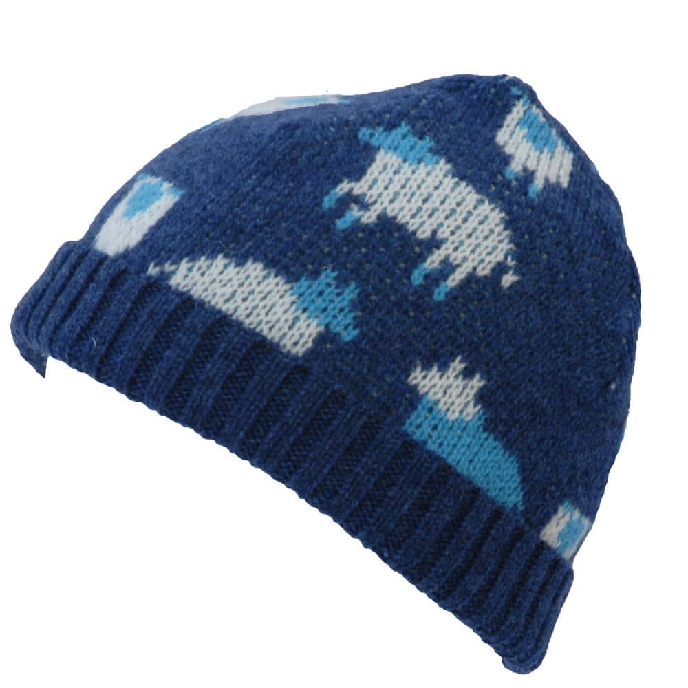 Flock of Sheep Wool Beanie Hat  c317c5831d8