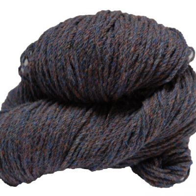 Hank of copper fleck knitting wool