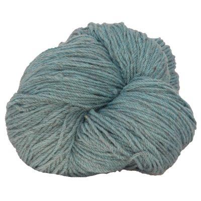 Hank of dusty blue knitting wool
