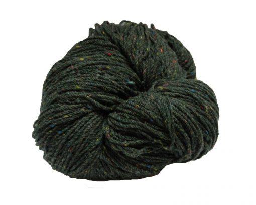 Hank of green fleck knitting wool
