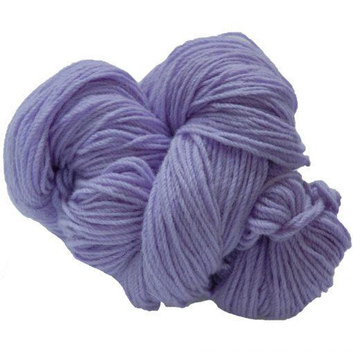 Hank of lilac knitting wool