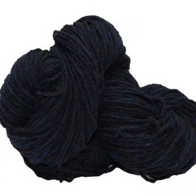 Hank of navy knitting wool