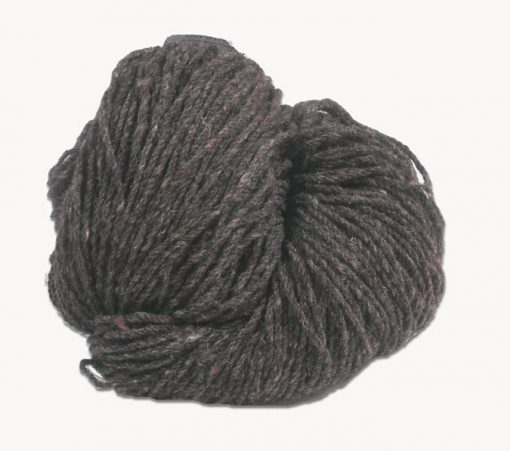 Hank of mid grey Jacob knitting wool