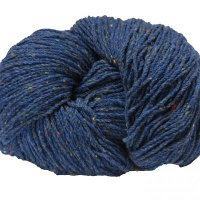 Hank of blue fleck knitting wool