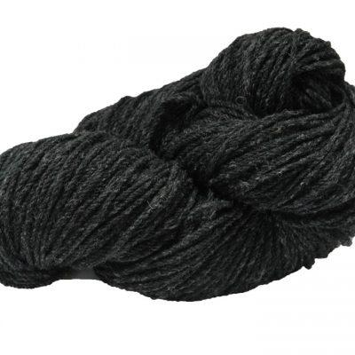 Traditional Irish aran knitting wool charcoal fleck