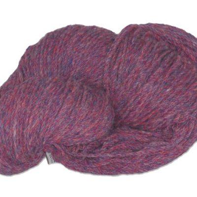 Traditional Irish Aran knitting wool in blended Rambling Rose