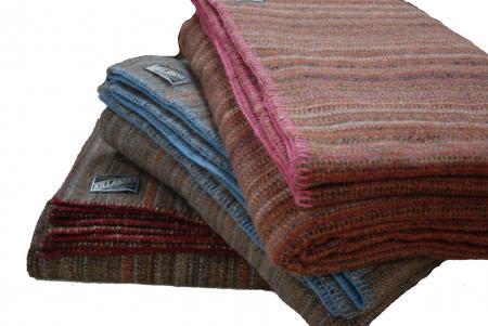 Irish Wool Blanket, Wool blanket for double bed, Kerry Woollen Mills