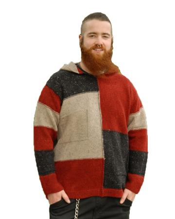 sweater-patch-hoodie-man-nep-charcoal-red-l