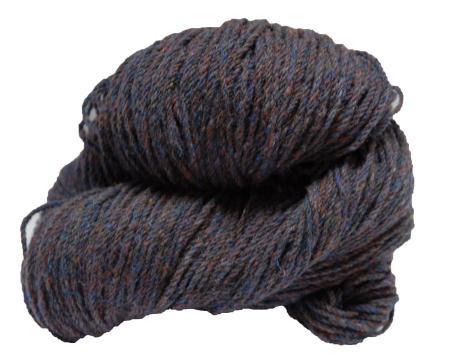 Hank of copper fleck knitting wool