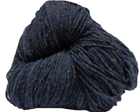 Hank of forest blue knitting wool