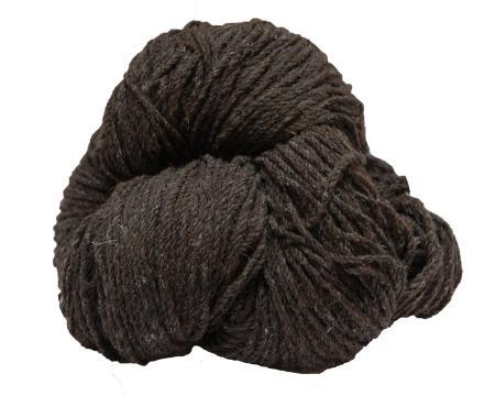 Hank of dark jacob aran knitting wool