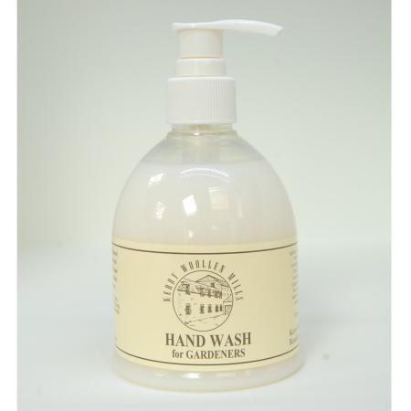 300ml Bottle of Gardiners Hand Wash liquid soap with pump dispenser. Hard working and gentle on skin