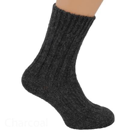 Thick wool socks Charcoal