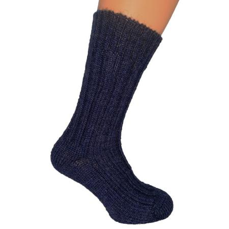 Thick wool sock Denim