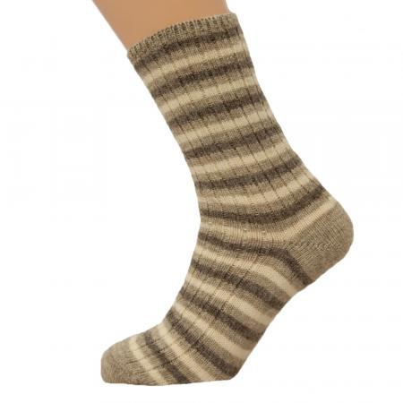 natural undyed wool socks