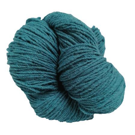Aran knitting wool in glorious Atlantic Blue colour.