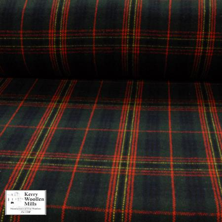 Upholstery fabric in Kennedy Tartan