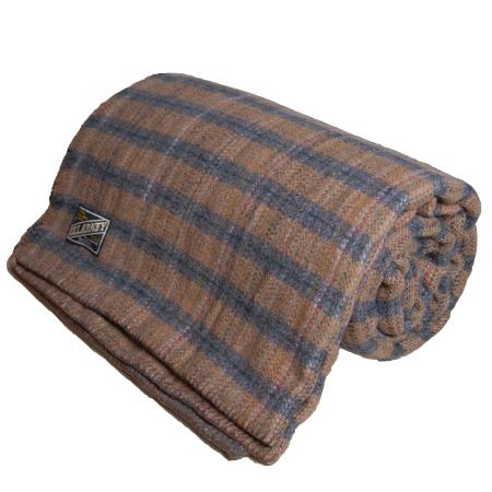 Wool blanket Special offer Tan Grey