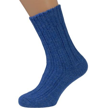 Atlantic Blue wool socks