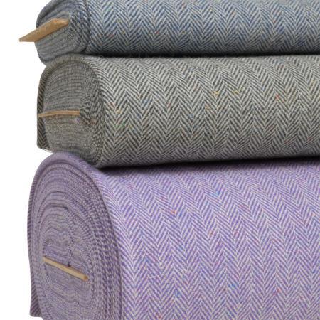 Herringbone Tweed Fabric 4421 stack