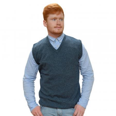 sweater-lambswool-silk-v-neck-vest-navy blue-1000