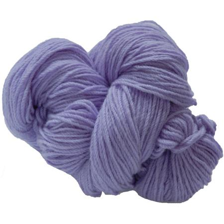 Hank of lilac knitting wool