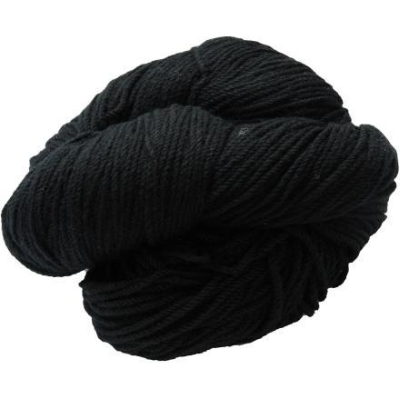 Hank of black knitting wool