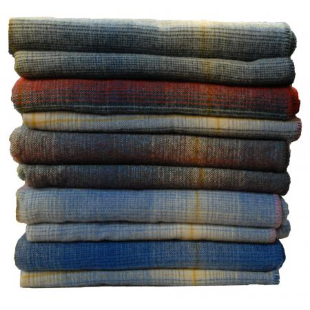 Blanket-Kerry-Shadow-check-Stack