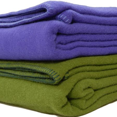 Wool blanket stack- Queen