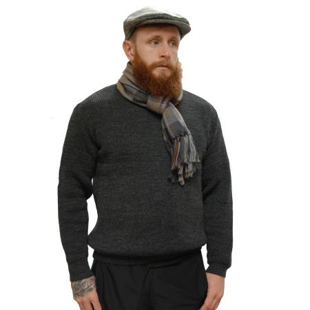 Kerry Traditions Wool SweaterOutdoor Living Wool Sweatersweater Charcoal