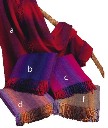 Kerry heavy weight wool blanket throw selection